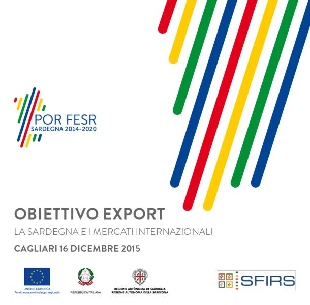 POR FESR SARDEGNA 2014-2020 – OBIETTIVO EXPORT